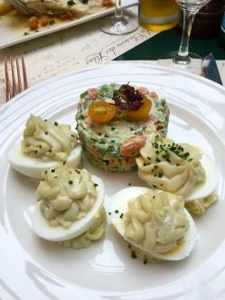 Oeufs mayonnaise